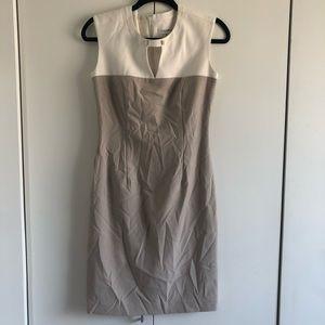 Calvin Klein Neutral Block Color Dress